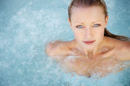 L'hydrotherapie en bain moussant