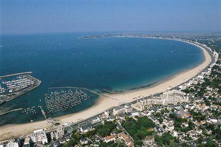 Le littoral de la Baule